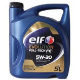 Aceite Elf Evolution Full-Tech FE 5W30 (3 garrafas x5l.)