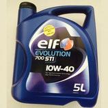 Aceite Elf Evolution 700 STI 10W40 (3 garrafas x 5l.)