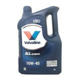 Valvoline All Climate 10w40 5L VALVOLINE (1 garrafa de 5 litros)