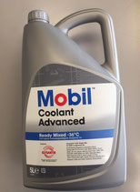 Mobil Coolant Advanced Ready Mix -36º (Caja de 3 garrafas de 5 Ltrs.) Color violeta