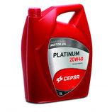 Cepsa Aceite Motor Cepsa Platinum 20W40 (1 caja de 5 garrafas de 5 Litros)