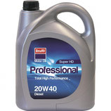 Aceite Krafft Profesional Super HD 20W40 Gasolina/Diesel (1 garrafa de 5 litros)
