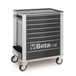 Carro herramientas Beta C24S 8/G-CAJONERA MÓVIL 8 CAJONES GRIS