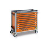 Carro herramientas Beta C24SAXL/9-O-CAJONERA MODELO LARGO Naranja