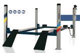 Elevadores Hidráulicos 4 Columnas 100% Automáticos sin necesidad de aire 4ED0300 3500 Kg