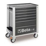 Carro herramientas Beta C24S 7/G-CAJONERA MÓVIL 7 CAJONES GREY