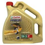 Aceite Castrol Power1 Racing 10w50 4T (Garrafa de 4 Litros)