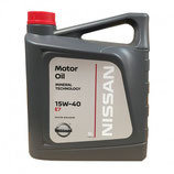 Lubricante NISSAN 15w40 (1 garrafa de 5 litros)