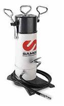 Bomba engrase industrial a pedal SAMOA 5 kg, con manguera de 4 m