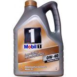 Mobil 1 FS 0W40 5L (antiguo New Life) MOBIL  (OFERTA caja de 4 garrafas de 5 litros)