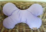 Kuschel Knochen Kissen  Flieder