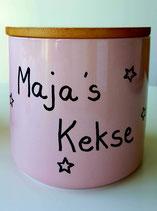 Keramikdose  ,, personalisiert ''