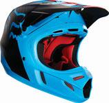 Fox Helm V4 Libra Blau Größe M