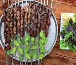 85. Lamm Leber und Herz Kabab
