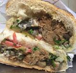 35. Zaban Sandwich (Lamm oder Rind) (warm)