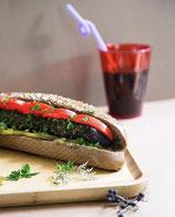 33. Kuku Sabzi Sandwich (vegetarisch