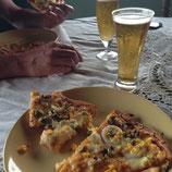 BEER + PIZZA!