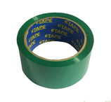 GREEN COLOUR TAPE 50M X 48mm