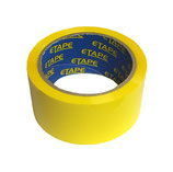 YELLOW COLOUR TAPE 50M X 48mm