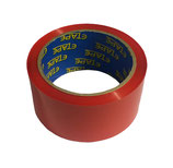 RED COLOUR TAPE 50M X 48mm