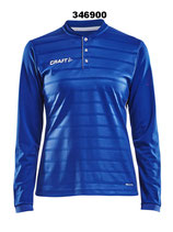 Pro Control Button Jersey LS Women 1906880