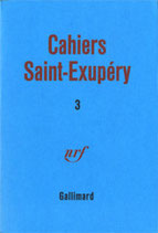 Cahiers Saint Exupéry (volume 3)
