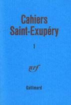 Cahiers Saint Exupéry (volume 1)