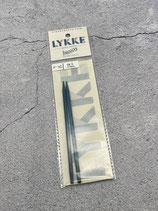 Lykke Nadelspitzen Indigo  4,0mm 11,5cm