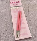 Lykke Nadelspitzen Pink,  6,5mm 11,5cm