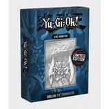 Limited Edition Metal God Card Obelisk the Tormentor
