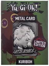 Limited Edition Metal Card Kuriboh