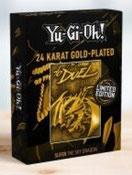 Limited Edition Gold Metal God Card Slifer the Sky Dragon
