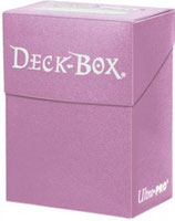 Ultra Pro Deck Box Solid - Bright Pink
