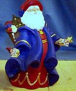 Nikolaus mit wallendem Mantel