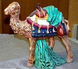 Krippenfigur Kamel stehend