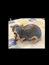 Ratty mit Apfel