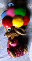 Osteranhänger  Luftballon