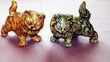 2 Kätzchen stehend