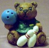 Teddybär Bowling