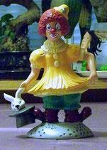 Pierrot mit Hase im Hut