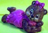 Teddy liegend