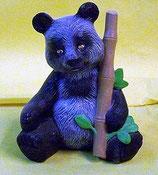 Panda Bär mit Bambus