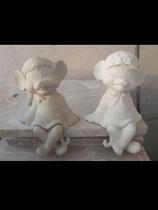 Regal Maus Junge Tom  & Mädchen Jill
