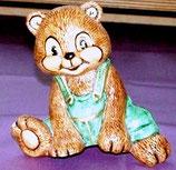 Teddy sitzend