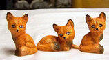 3 kleine Füchse
