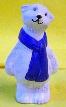Polarbär stehend