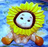Sonnenblumen Kind breitbeinig Fiona