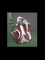 Weihnachtsmann mit Tanne