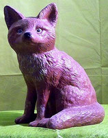 Fuchs sitzend M