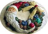 Weihnachtskranz Nikolaus